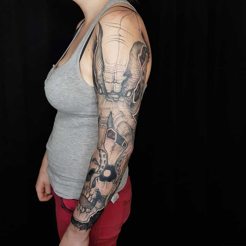 Eight Arms Tattoo